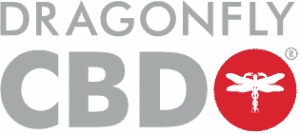 Dragonfly CBD logo silver
