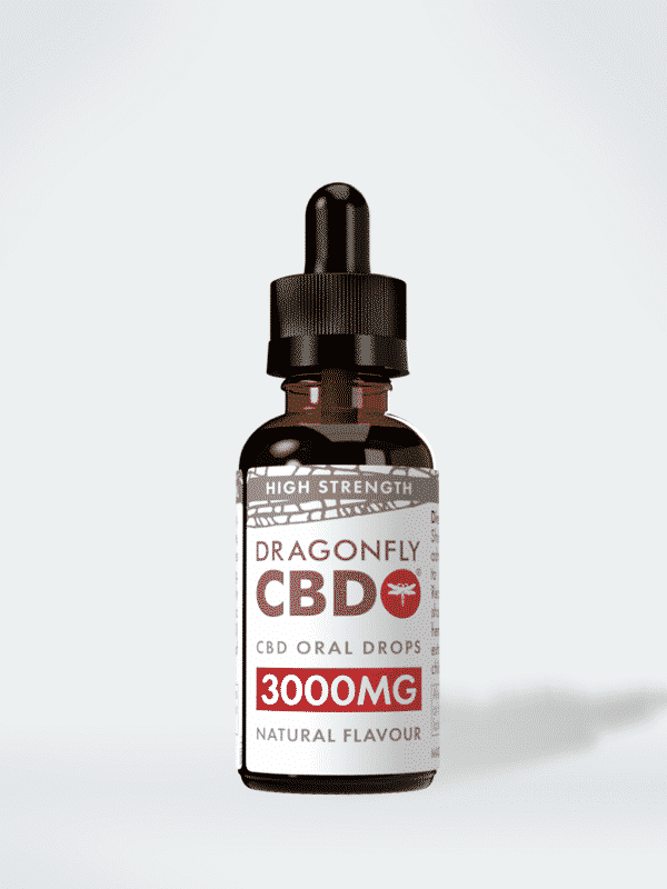 Narrow Spectrum Dragonfly CBD Oil (Larger Bottle) 3000mg, 30ml