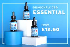 Blog cover image for UK's Best Value CBD Oil Dragonfly CBD Essential, from £12.50