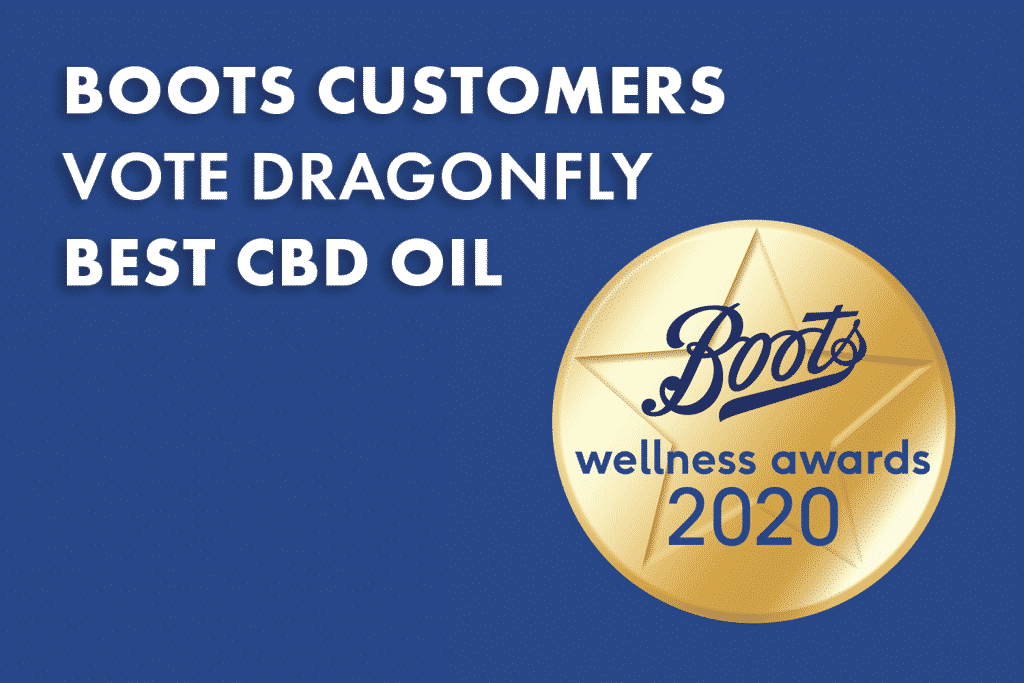 Dragonfly CBD Boots UK Customers votes Dragonfly Best CBD Oil