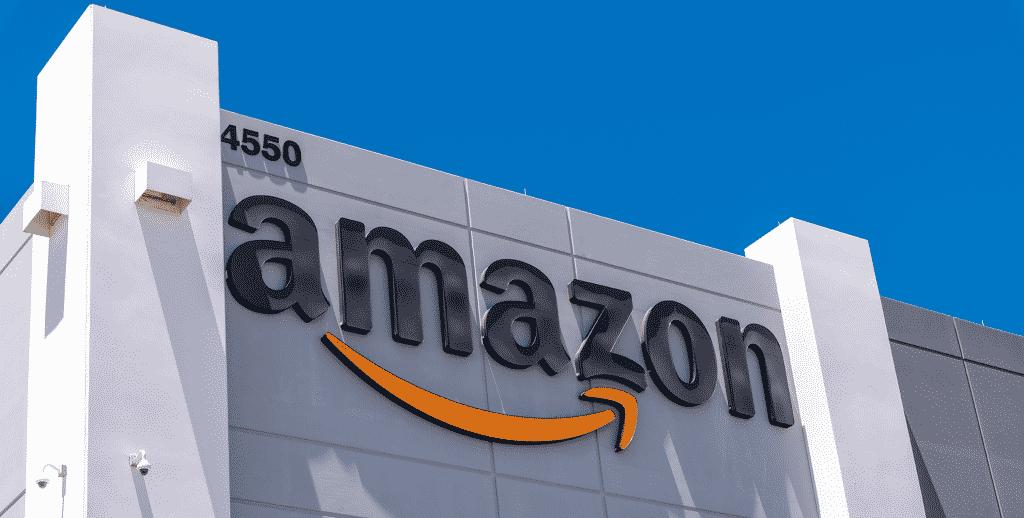 Amazon fulfillment center building in Las Vegas, where you can buy amazon cbd