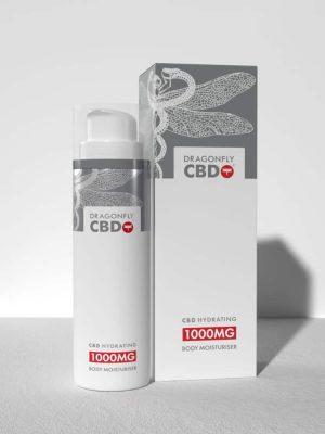 Dragonfly CBD Hydrating Body Moisturiser 1000mg