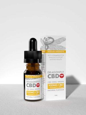Dragonfly CBD Vitamin D Oil 500mg